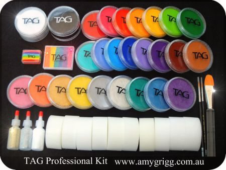 Amy grigg face painting and supplies for Professional painting supplies